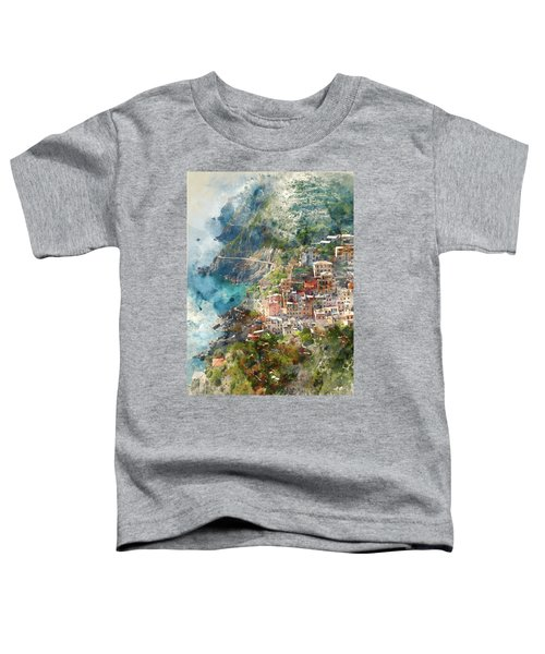 Cinque Terre In Italy Toddler T-Shirt