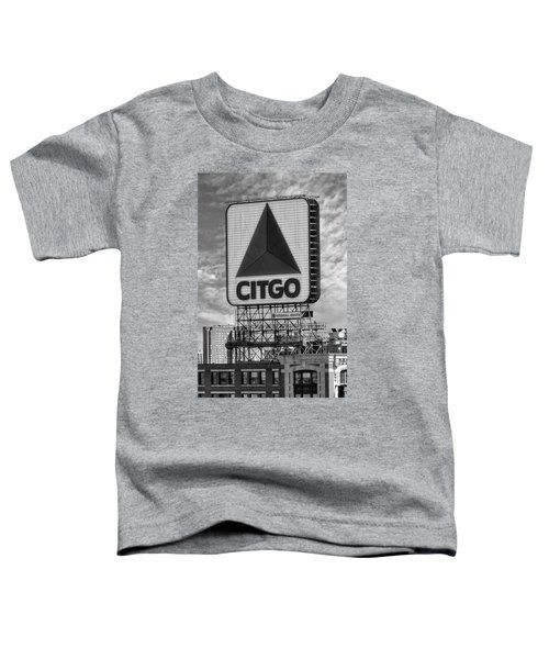 Citgo Sign Kenmore Square Boston Toddler T-Shirt