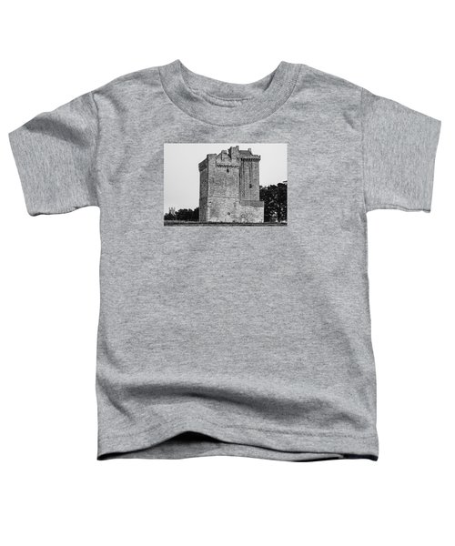 Clackmannan Tower Toddler T-Shirt by Jeremy Lavender Photography