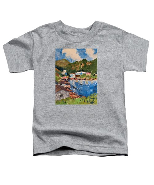 Coastal Village, Newfoundland Toddler T-Shirt