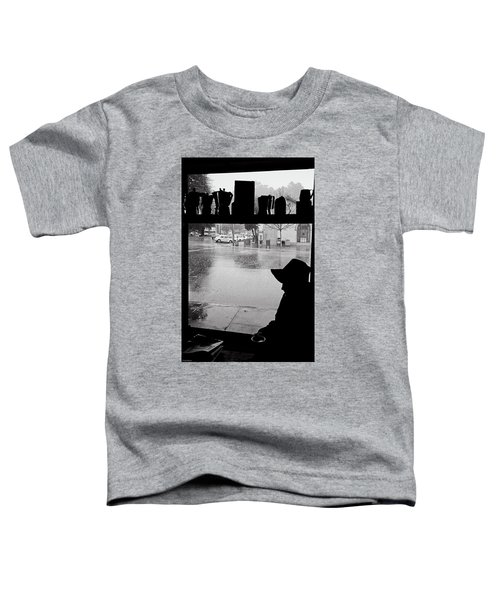 Coffee In The Rain Toddler T-Shirt