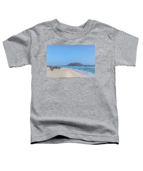 Corralejo - Fuerteventura Toddler T-Shirt by Joana Kruse
