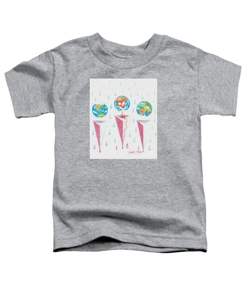 Africa Bleeds Cupable Countries Toddler T-Shirt by Rod Ismay