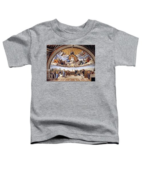 Disputation Of The Eucharist Toddler T-Shirt