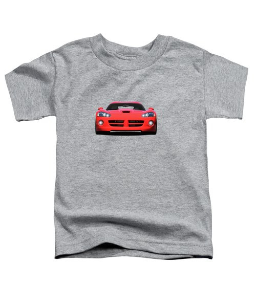 Dodge Viper Toddler T-Shirt by Mark Rogan