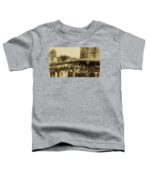 Ebbets Field Crowd 1920 Toddler T-Shirt