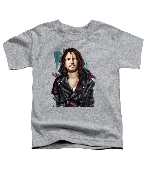 Eddie Vedder Toddler T-Shirt