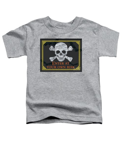 Enter At Your Own Risk  Toddler T-Shirt