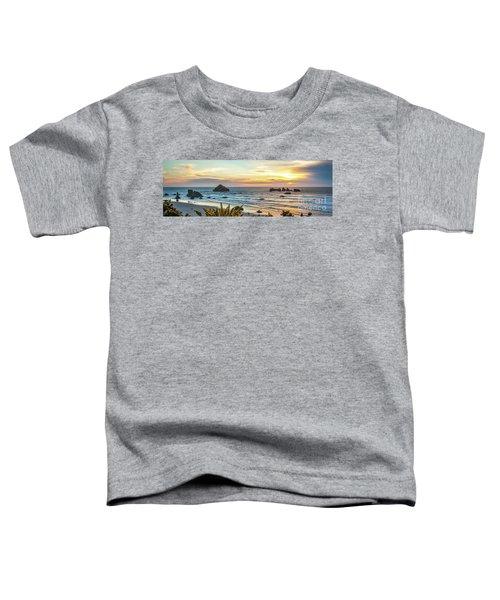 Face Rock At Sunset Toddler T-Shirt