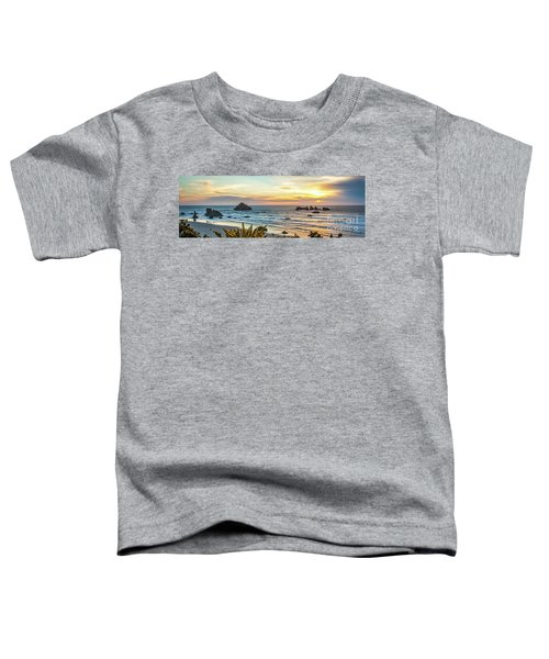 Face Rock At Sunset Toddler T-Shirt