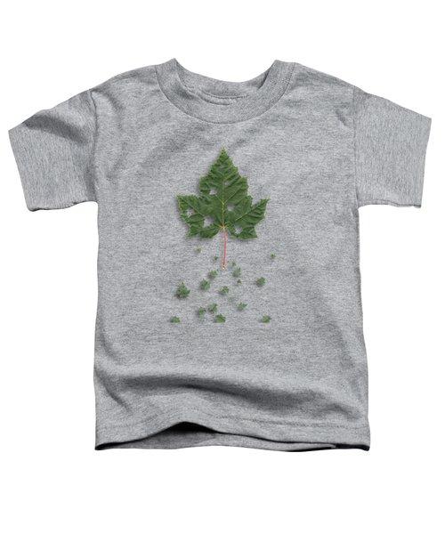 Fall Toddler T-Shirt by AugenWerk Susann Serfezi