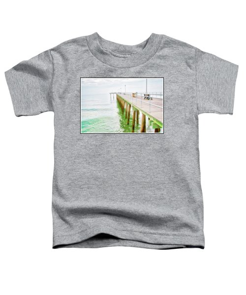 Fishing Pier, Margate, New Jersey Toddler T-Shirt
