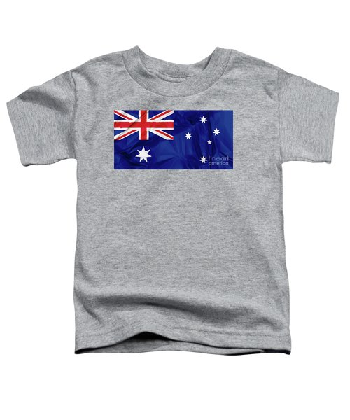 Flag Of Australia Toddler T-Shirt