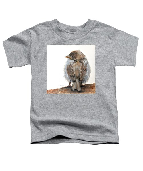 Fledgling Sparrow Toddler T-Shirt