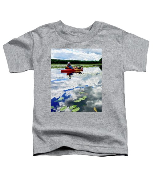 Floating In The Sky Toddler T-Shirt