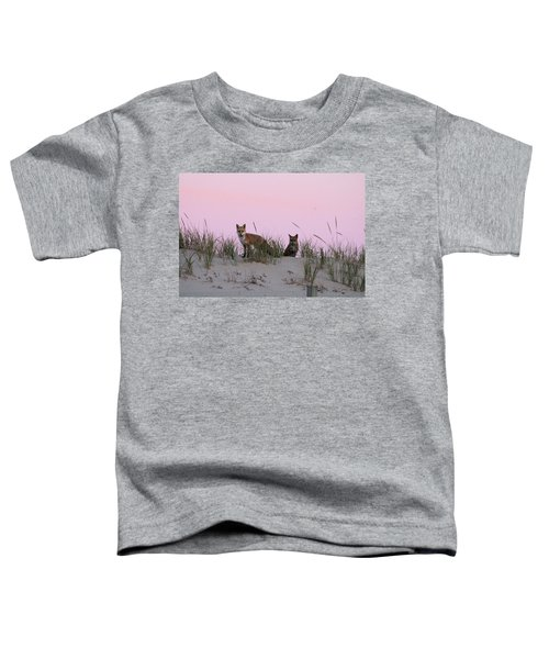 Fox And Vixen Toddler T-Shirt