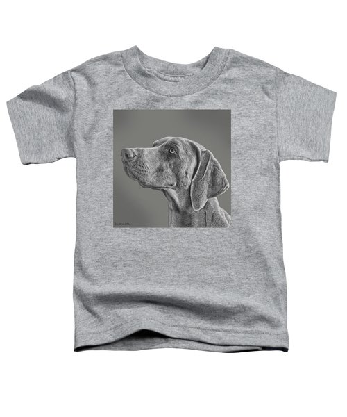 Gray Ghost Toddler T-Shirt