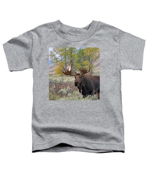 Handsome Bull Toddler T-Shirt