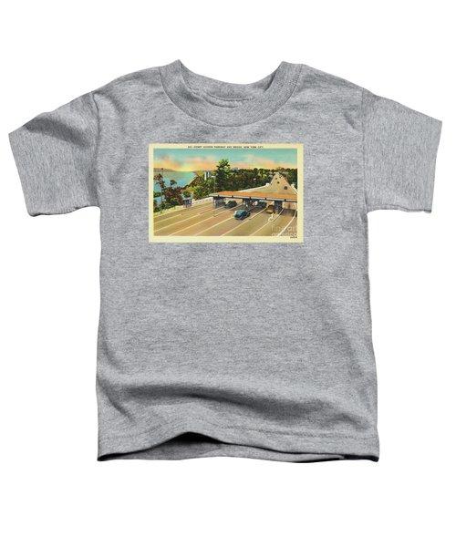 Henry Hudson Bridge Postcard  Toddler T-Shirt