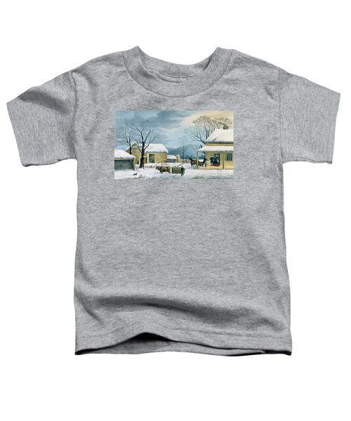 Home To Thanksgiving Toddler T-Shirt