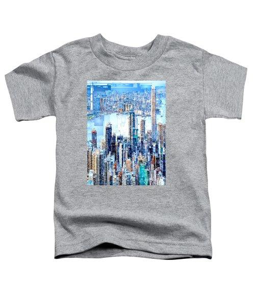 Hong Kong Skyline Toddler T-Shirt