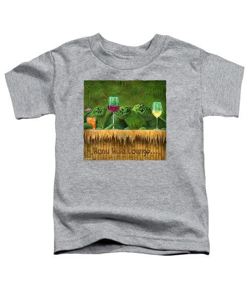 Honu Hula Lounge... Toddler T-Shirt