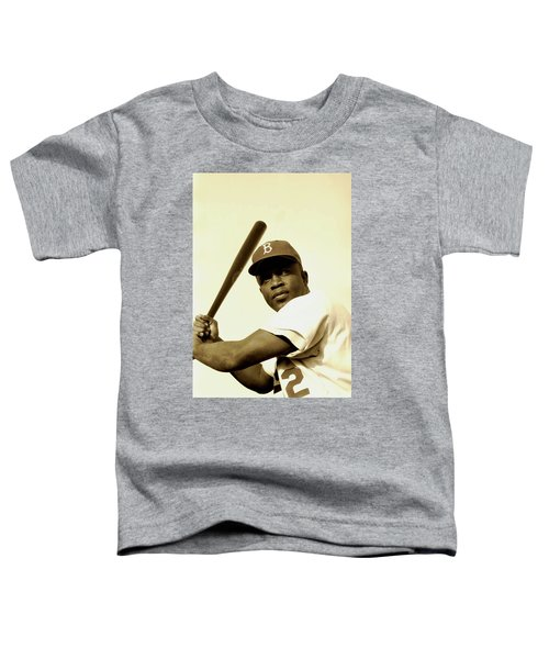 Jackie Robinson 1952 Toddler T-Shirt