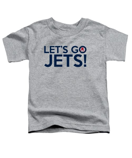Let's Go Jets Toddler T-Shirt