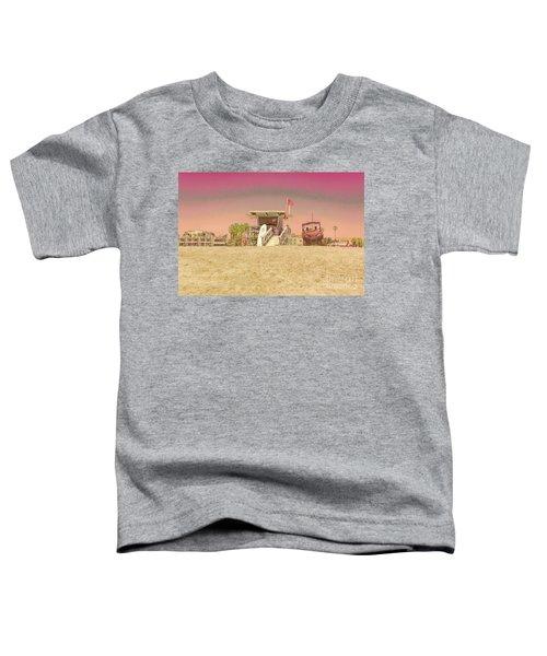 Lifeguard Tower 3 Toddler T-Shirt