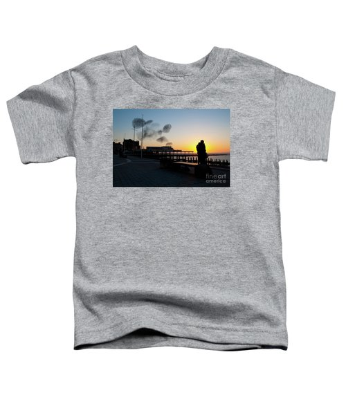 Love Birds At Sunset Toddler T-Shirt