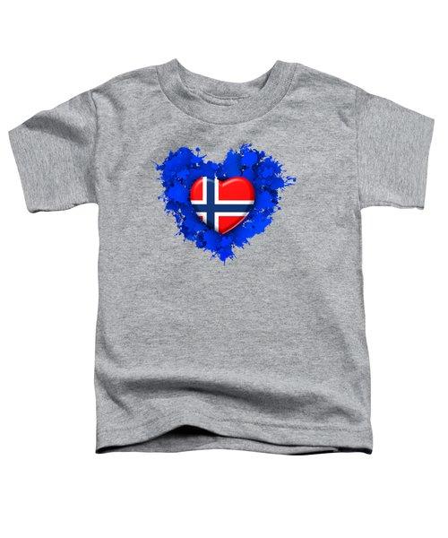 Love Norway Toddler T-Shirt