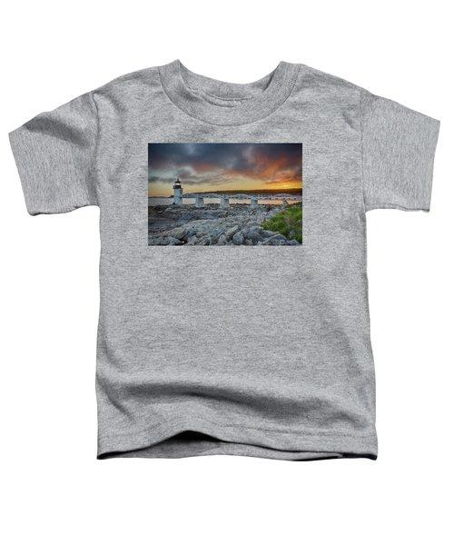 Marshall Point Lighthouse At Sunset, Maine, Usa Toddler T-Shirt