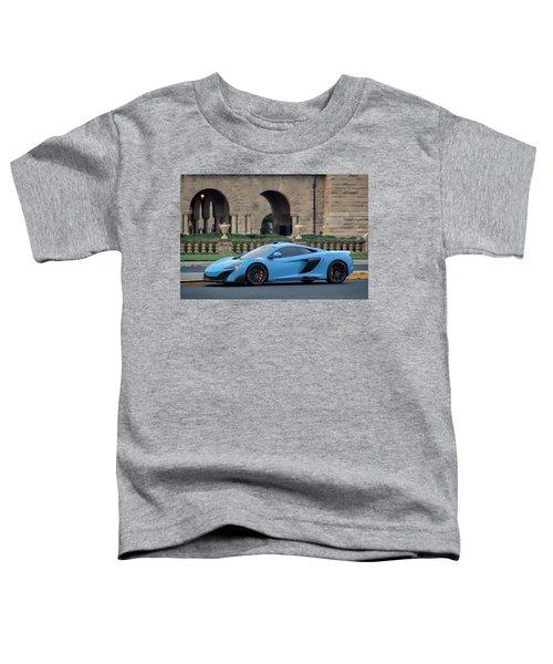 #mclaren #675lt With #pirelli #tires Toddler T-Shirt