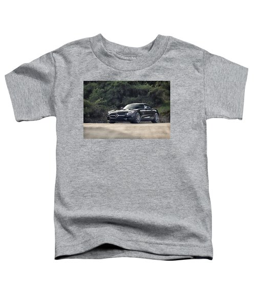 #mercedes #amg #gts Toddler T-Shirt