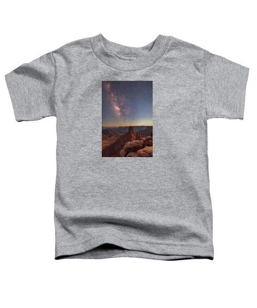 Milky Way At Twilight - Marlboro Point Toddler T-Shirt