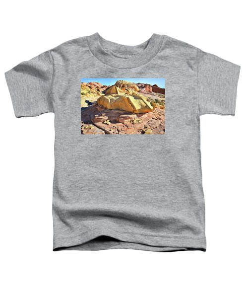 Morning In Wash 3 In Valley Of Fire Toddler T-Shirt