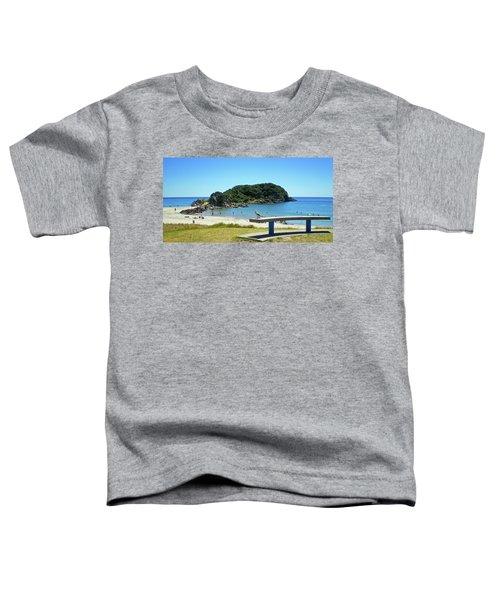 Mount Maunganui Beach 4 - Tauranga New Zealand Toddler T-Shirt