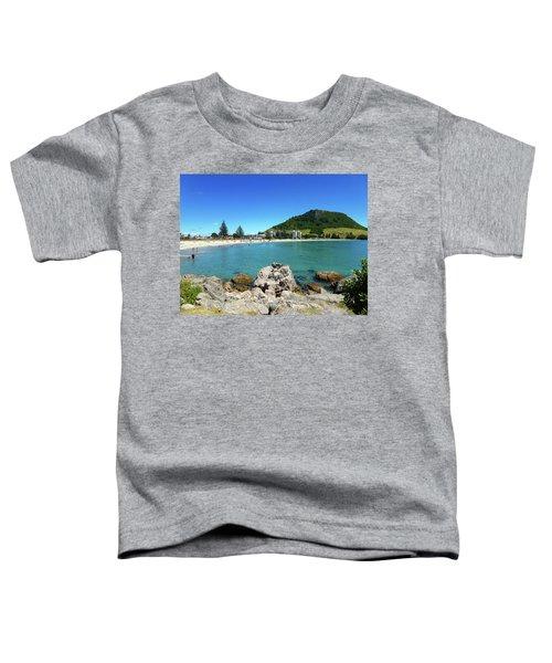 Mount Maunganui Beach 8 - Tauranga New Zealand Toddler T-Shirt