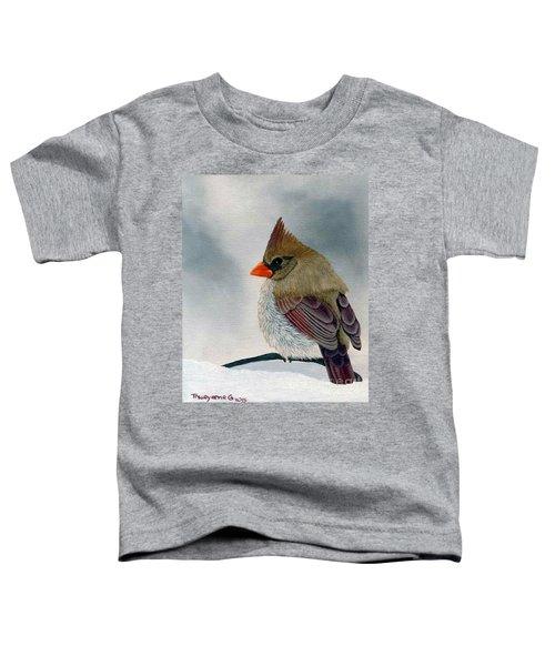 Mrs. Cardinal Toddler T-Shirt