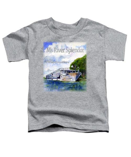 Ms River Splendor Shirt Toddler T-Shirt