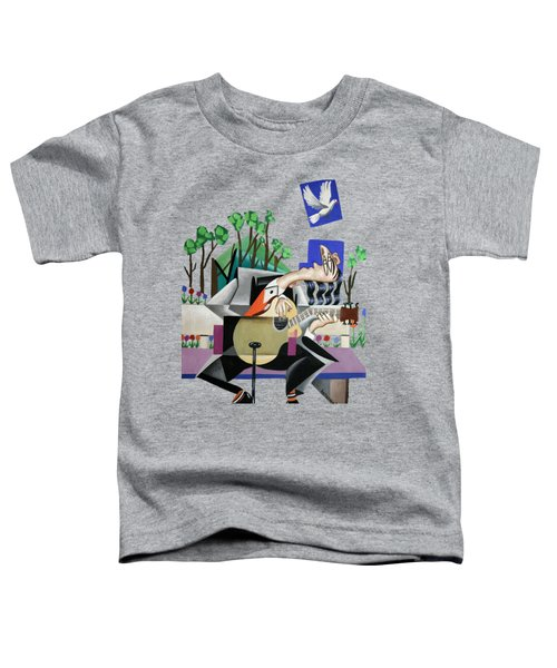 Music A Gift From The Holy Spirit Toddler T-Shirt by Anthony Falbo