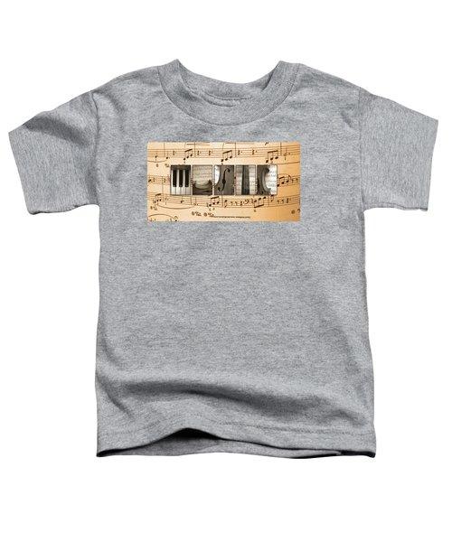 Music Toddler T-Shirt