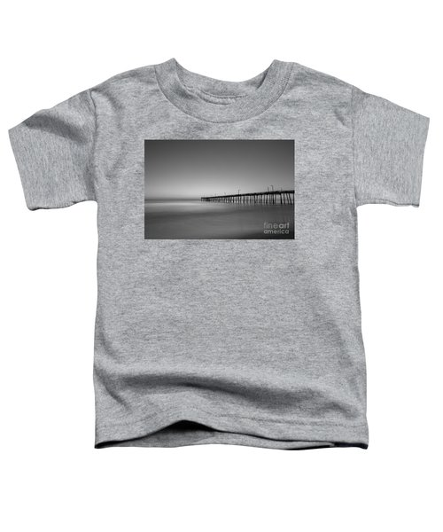 Nags Head Fishing Pier Sunrise Toddler T-Shirt
