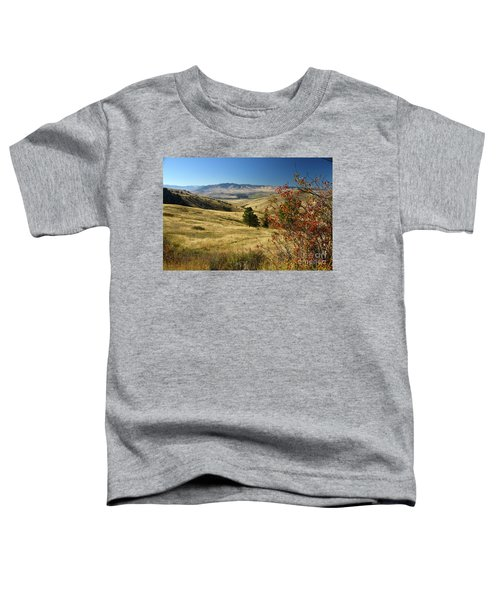 National Bison Range Toddler T-Shirt