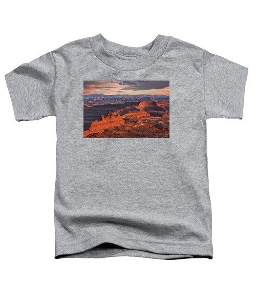 Needles Sunset From White Crack Toddler T-Shirt
