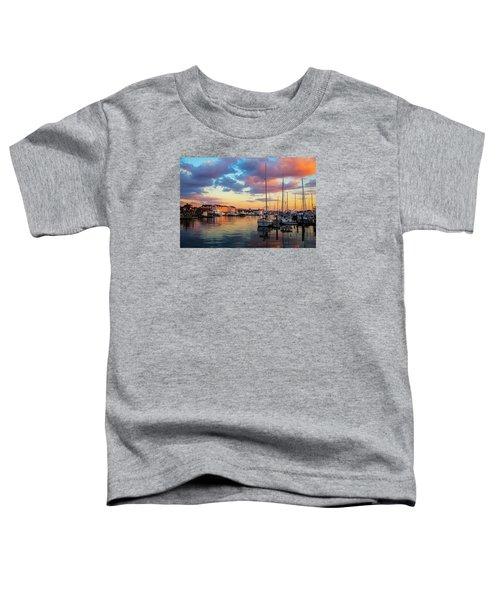 Newports Dusk Toddler T-Shirt
