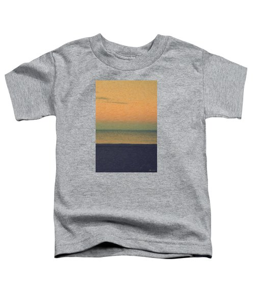 Not Quite Rothko - Breezy Twilight Toddler T-Shirt