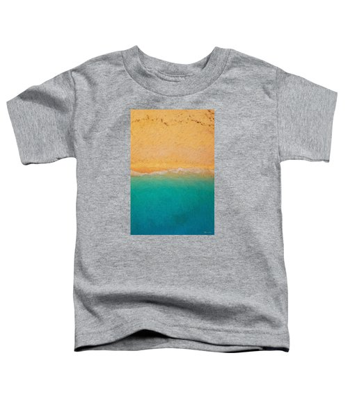 Not Quite Rothko - Surf And Sand Toddler T-Shirt