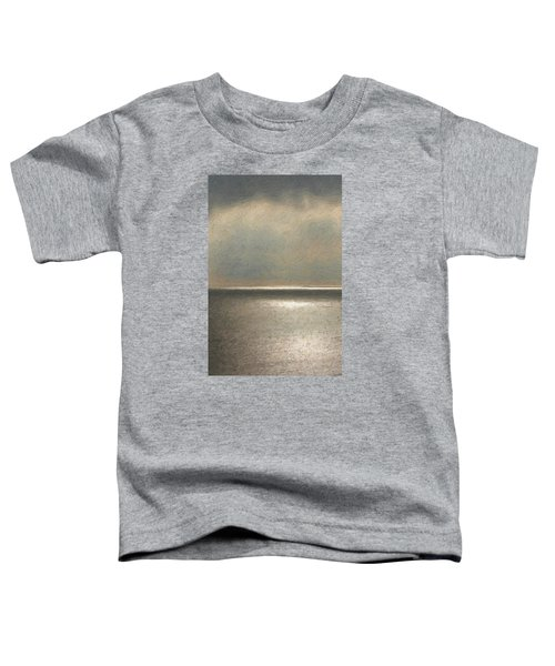 Not Quite Rothko - Twilight Silver Toddler T-Shirt