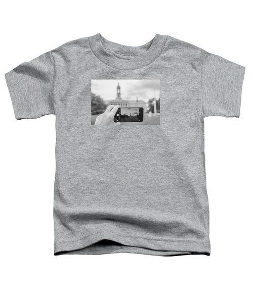 Old Main Penn State  Toddler T-Shirt by John McGraw
